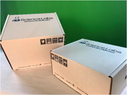 Reinforcing a Commitment to Sustainability with New Lab Kit Packaging from eScience Labs
